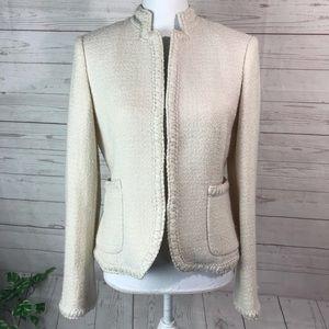 J. Crew tweed jacket blazer size 6